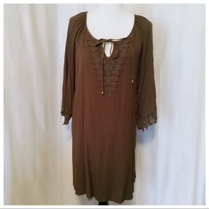 NWT~ L❤️VE Delirious Tunic Dress - 1X